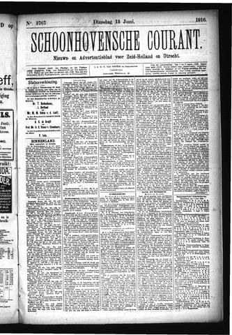 Schoonhovensche Courant 1916-06-13