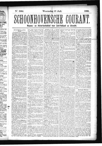 Schoonhovensche Courant 1895-07-17