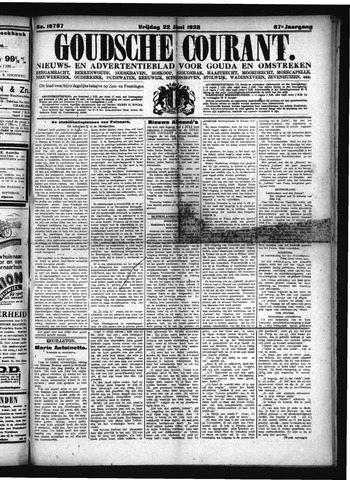 Goudsche Courant 1928-06-22