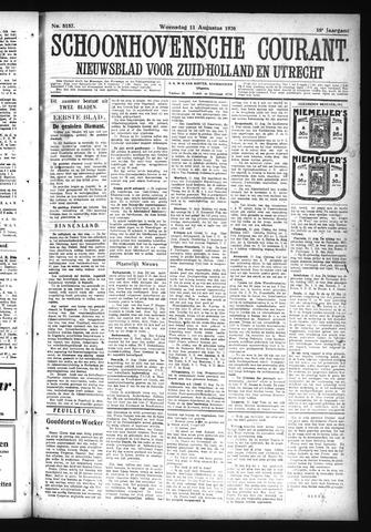 Schoonhovensche Courant 1926-08-11