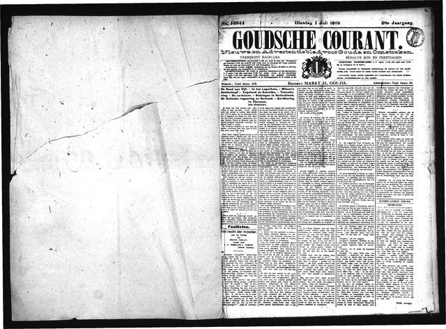 Goudsche Courant 1919-07-01