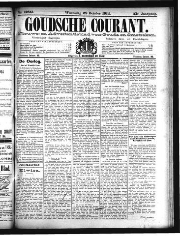 Goudsche Courant 1914-10-28