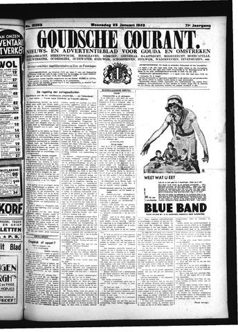Goudsche Courant 1933-01-25