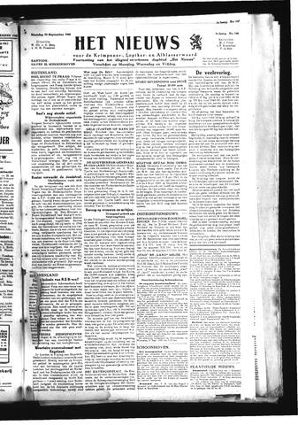 Schoonhovensche Courant 1945-09-10
