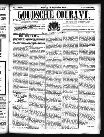 Goudsche Courant 1918-09-13