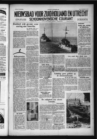 Schoonhovensche Courant 1958-09-10