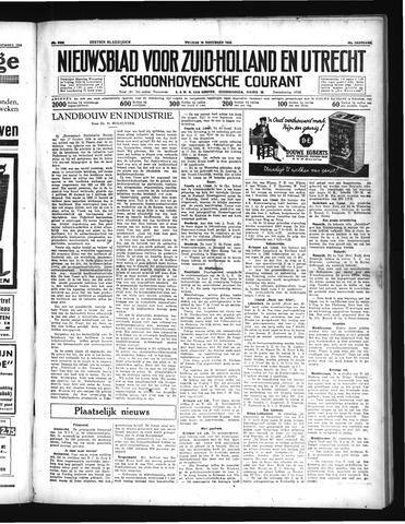 Schoonhovensche Courant 1934-11-16
