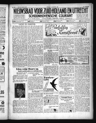 Schoonhovensche Courant 1935-12-24