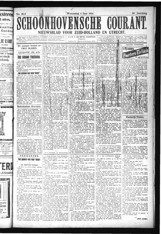 Schoonhovensche Courant 1924-06-04