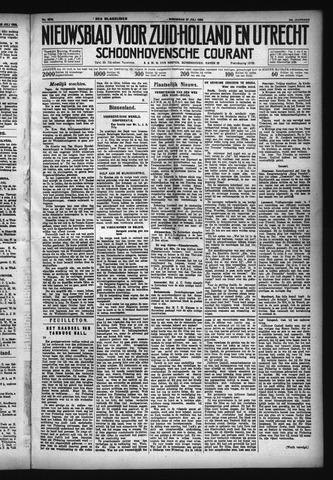 Schoonhovensche Courant 1932-07-27