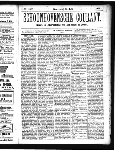 Schoonhovensche Courant 1902-07-16