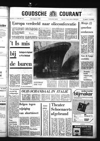 Goudsche Courant 1974-02-11