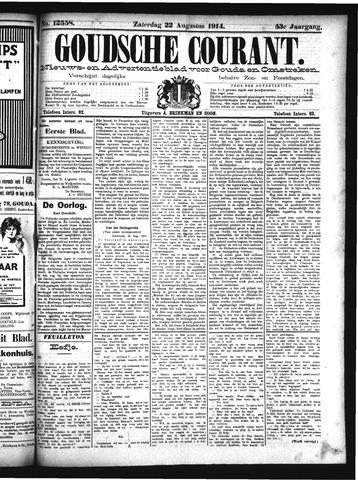 Goudsche Courant 1914-08-22