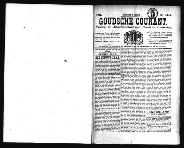 Goudsche Courant 1891