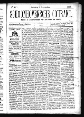 Schoonhovensche Courant 1896-09-06