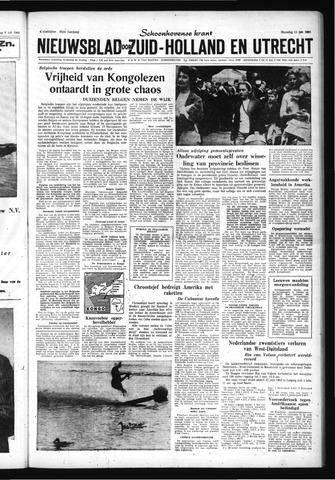 Schoonhovensche Courant 1960-07-11