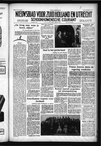 Schoonhovensche Courant 1957-09-06