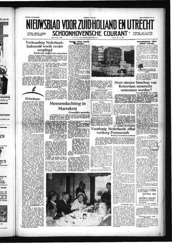 Schoonhovensche Courant 1956-05-04