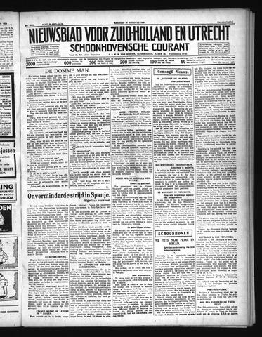 Schoonhovensche Courant 1936-08-10