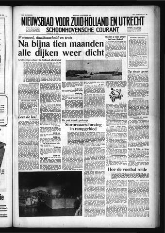 Schoonhovensche Courant 1953-11-09