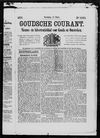 Goudsche Courant 1871-03-15