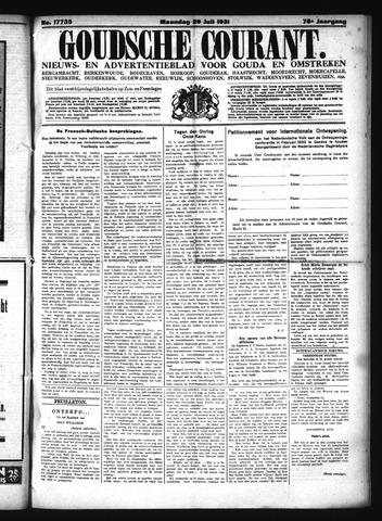 Goudsche Courant 1931-07-20