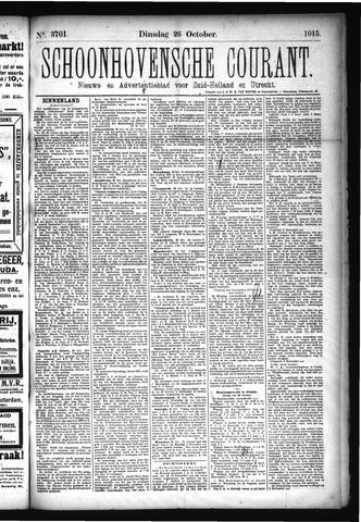 Schoonhovensche Courant 1915-10-26