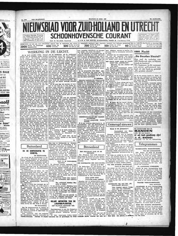 Schoonhovensche Courant 1937-04-26