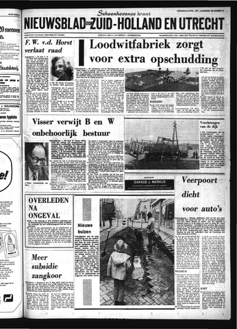 Schoonhovensche Courant 1977-04-06