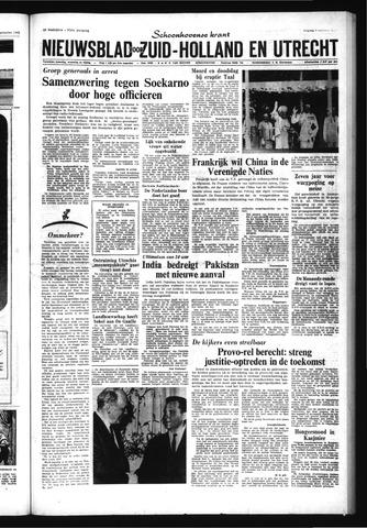 Schoonhovensche Courant 1965-10-01