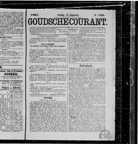 Goudsche Courant 1865-08-27