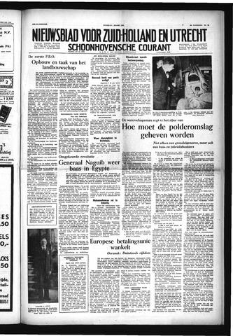 Schoonhovensche Courant 1954-03-01