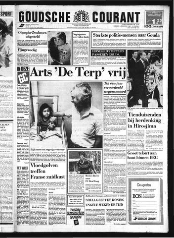 Goudsche Courant 1985-08-06