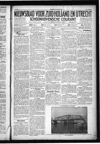 Schoonhovensche Courant 1930-10-29