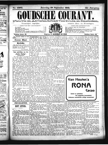 Goudsche Courant 1912-09-28