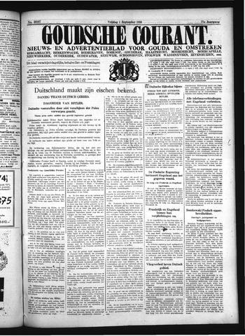 Goudsche Courant 1939-09-01