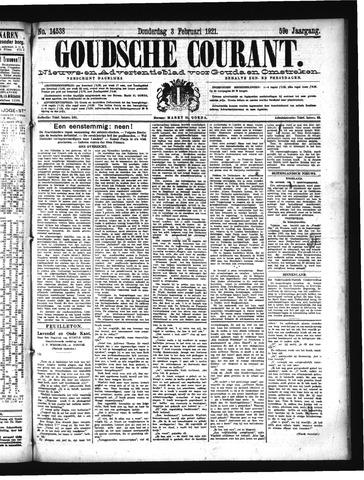 Goudsche Courant 1921-02-03