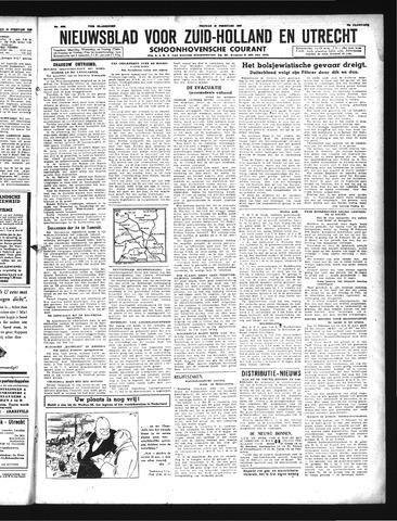 Schoonhovensche Courant 1943-02-19