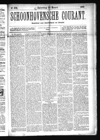 Schoonhovensche Courant 1886-03-20