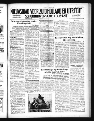 Schoonhovensche Courant 1952-08-18
