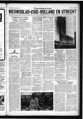 Schoonhovensche Courant 1960-07-22