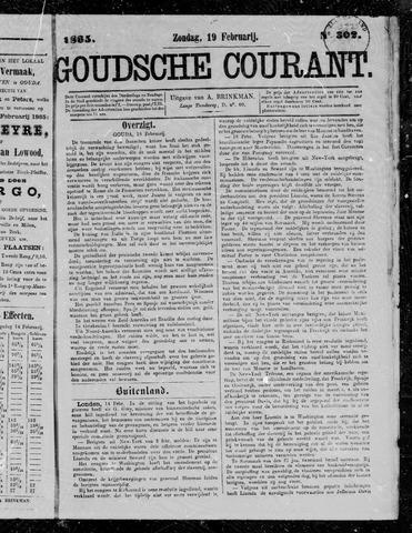 Goudsche Courant 1865-02-19