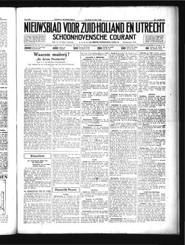 Schoonhovensche Courant 1934-07-27