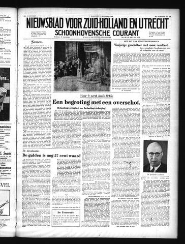 Schoonhovensche Courant 1949-09-21