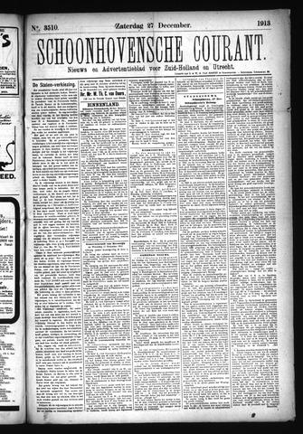 Schoonhovensche Courant 1913-12-27