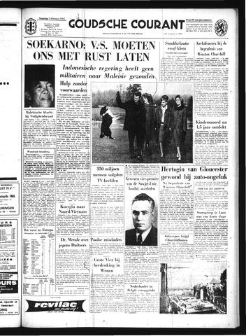 Goudsche Courant 1965-02-01
