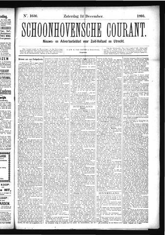 Schoonhovensche Courant 1895-12-14