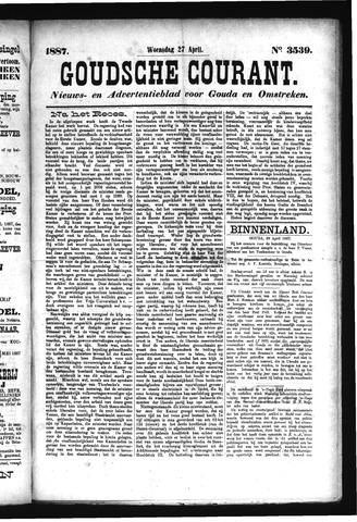 Goudsche Courant 1887-04-27