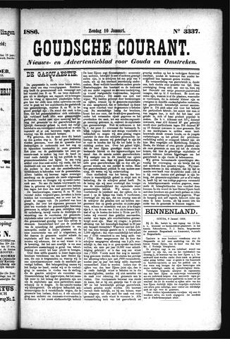 Goudsche Courant 1886-01-10