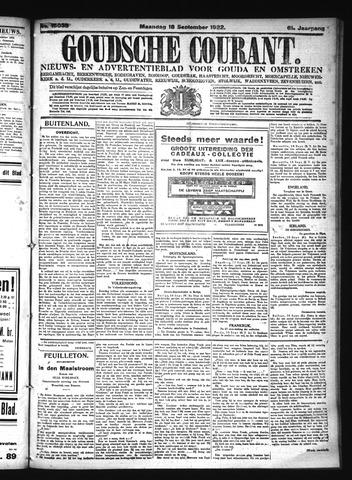Goudsche Courant 1922-09-18